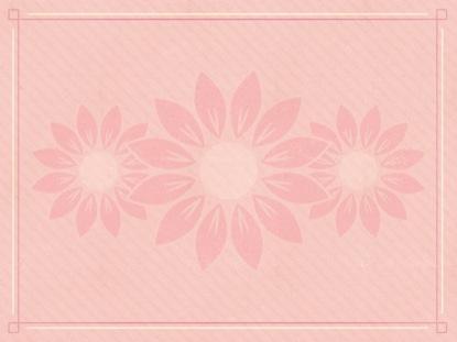 PINK FLOWERS BLANK