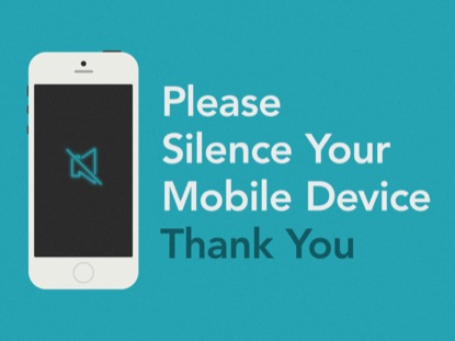 silence your cell phone