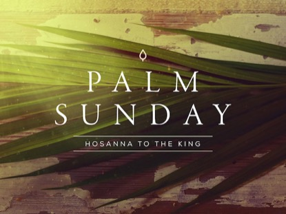 PORTRAITS OF PASSION: PALM SUNDAY