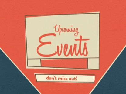 RETRO UPCOMING EVENTS