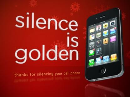 SILENCE IS GOLDEN CHRISTMAS