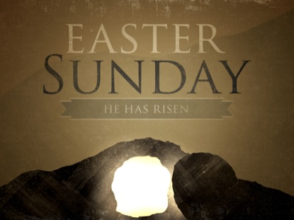 SILHOUETTE EASTER SUNDAY