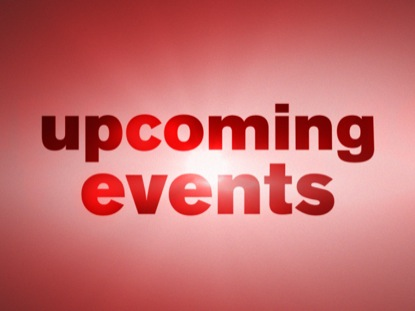 SIMPLE RED UPCOMING EVENTS