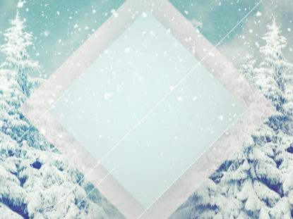SNOW SCENE BLANK
