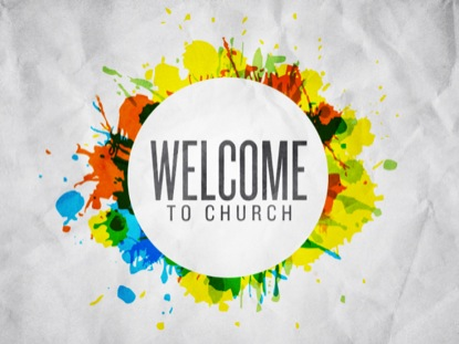 SPLATTER WELCOME TO CHURCH