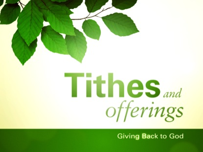 SPRING LEAVES TITHES & OFFERINGS