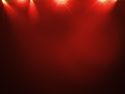 STAGE LIGHTS RED