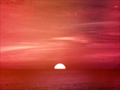 SUMMER HUES OCEAN SUNSET