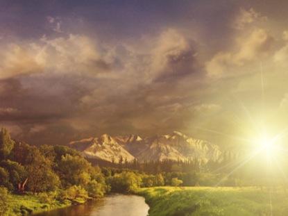 SUNSETS LANDSCAPE