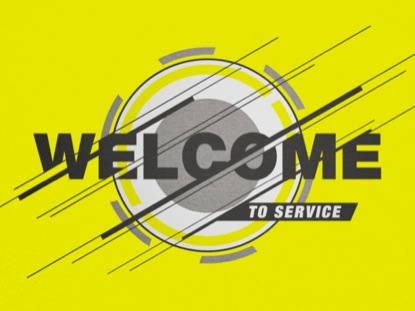 TECH YELLOW WELCOME
