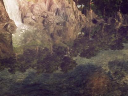 VIVID REFLECTIONS WATERFALL