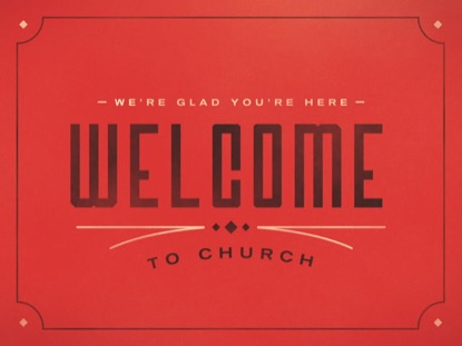 WESTERN LINES WELCOME TO CHURCH