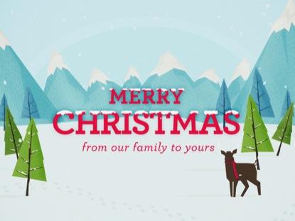 WINTER WONDERLAND - MERRY CHRISTMAS