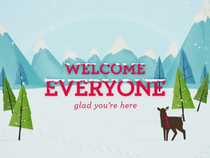 WINTER WONDERLAND - WELCOME