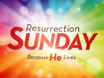 COLORFUL RESURRECTION SUNDAY