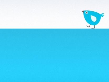 FOLLOW US ON TWITTER BLANK