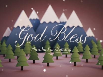 MOUNTAINSIDE GOD BLESS