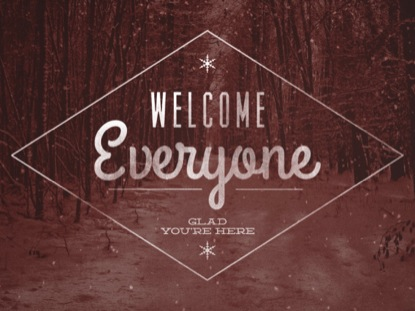 MUTED CHRISTMAS - WELCOME EVERYONE