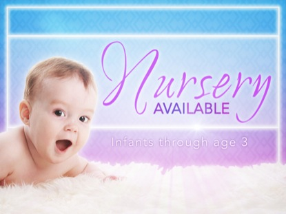 church nursery available powerpoint