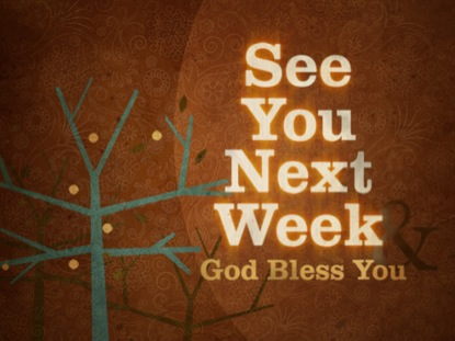 See You Next Week | Igniter Media | Youth Worker