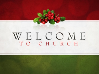 WELCOME TO CHURCH 2