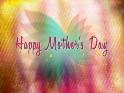 HAPPY MOTHER'S DAY TITLE