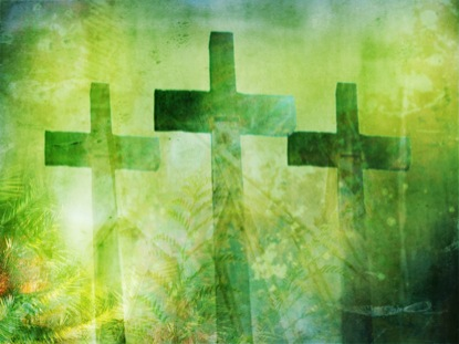 PALM SUNDAY: CROSSES