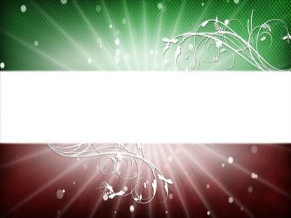 RED AND GREEN CHRISTMAS TITLE BLANK