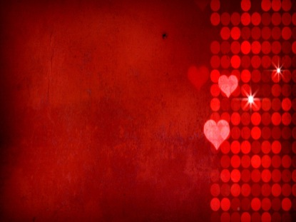 RED FALLING HEARTS