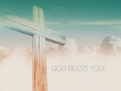CROSS GOD BLESS