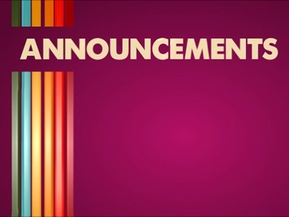 Church Announcements Video Loop | Sharefaith ...