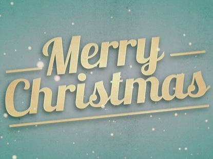 CHRISTMAS WELCOME MERRY CHRISTMAS
