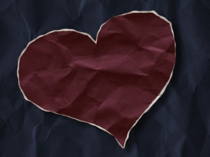 PAPER HEART OF LOVE