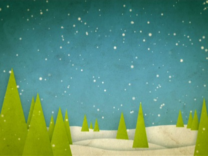 TREES AND SNOW LOOP