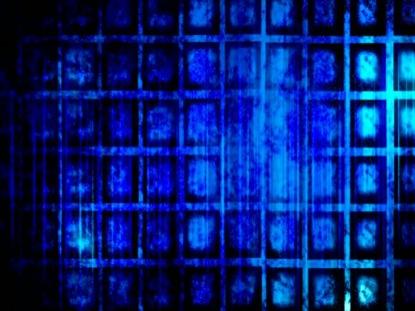 ORGANIC SQUARES BLUE