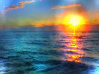 SUNSET WAVES SIMPLE