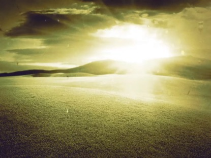 DUST BOWL SUNSET