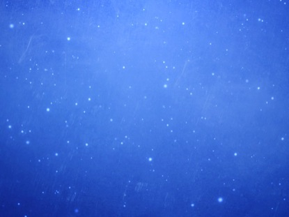 BEAUTIFUL BLUE PARTICLES
