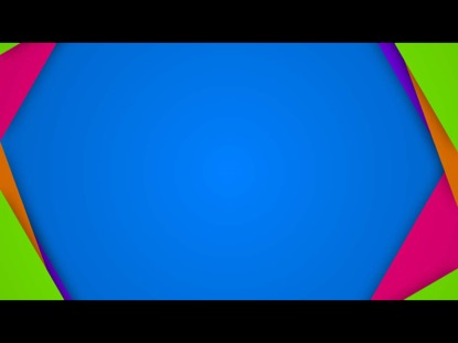 FLAT SQUARE FRAMES ON BLUE
