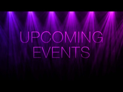 PENDULUM LIGHTS UPCOMING EVENTS