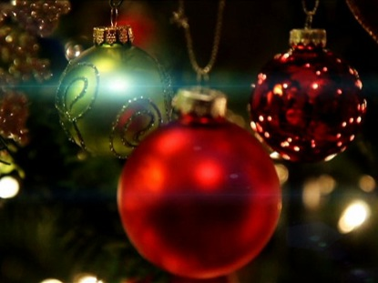 CHRISTMAS 3 ORNAMENTS