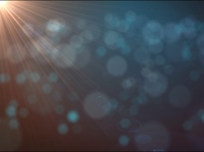 ABSTRACT BACKGROUND PARTICLES AND FLARE