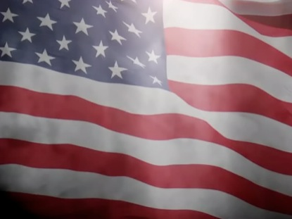 AMERICAN FLAG BACKGROUND LOOP