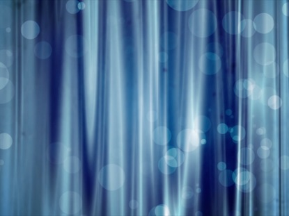 BLUE CURTAIN AND LARGE PARTICLES
