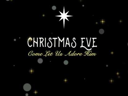 CHRISTMAS EVE TITLE