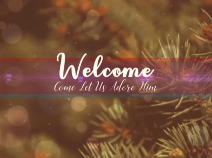 EVERGREEN CHRISTMAS WELCOME
