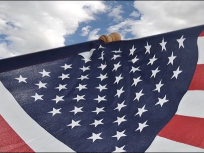 FOURTH OF JULY FLAG BACKGROUND 2