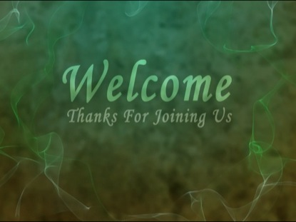 FRACTAL WELCOME BACKGROUND