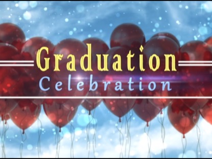 NEW GRADUATION CELEBRATION BACKGROUND