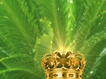 JESUS THE KING PALM SUNDAY